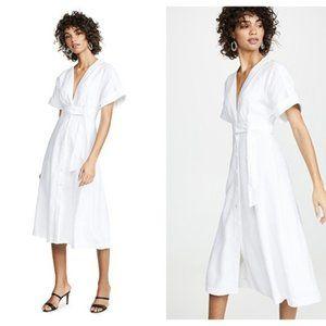 Equipment Nauman Dress Bright White NWT
